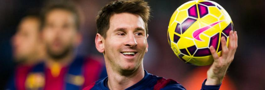 Lionel Messi a bientôt 30 ans